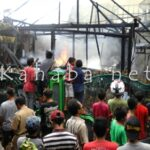 Kebakaran di Rabangodu, Satu Rumah Ludes Terbakar