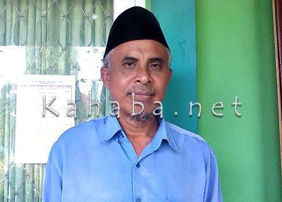Koordinator pembinaan KSM MAN 2 Kota Bima, Dahlan. Foto: Eric