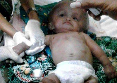 M. Wildan saat mendapat penanganan medis. Foto: Rangga Babuju (Facebook)