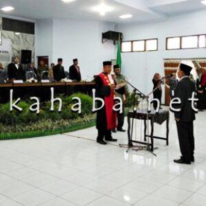 Usai Dilantik, H. Muhammad Komitmen Tata Legislatif