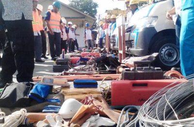 PLN Bima saat cek persiapan Listrik jelang Bulan Ramadan. Foto: Abu