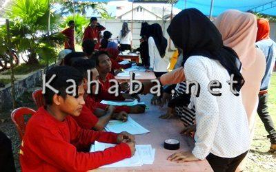 Proses Pemilihan Ketua BEM STKIP Bima. Foto: Deno