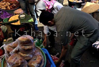 Razia Pasar Tente dan Pasar Bolo. Foto: Deno