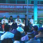HM Lutfi Sosialisasi 4 Pilar di Kelurahan Ntobo
