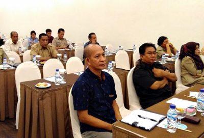 Sugiarto saat hadiri kegiatan FGD IDI di Mataram. Foto: Eric