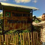 Tanah Milik Pemkot Bima Disita Polisi