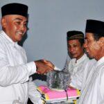 Wabup Bima Bantu Masjid dan Musholla se-Kecamatan Tambora