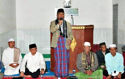 Wagub NTB menyampaikan sambutan saat Safari Ramadan. Foto: Hum