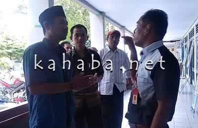 Alwi Yasin Cekcok dengan Asikin. Foto: Eric