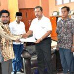 KPU Kota Bima Sampaikan RAB Pilkada 2018