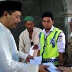 Walikota Bima Bantu Pembangunan Masjid Baiturrahmi Wadumbolo