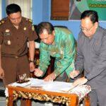 Walikota Tandatangani Kerjasama dengan Kejari Bima