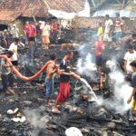 3 Rumah Hangus Terbakar di Desa Tolowata