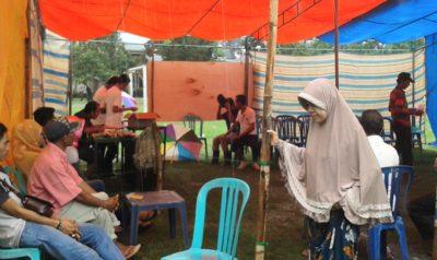 Suasana pemungutan suara Pilkades Nisa. Foto: Noval