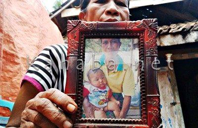 Ardiansyah di foto saat berusia 7 bulan. Foto: Bin