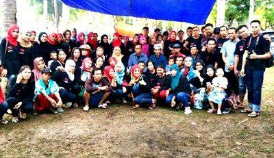 Foto bersama Alumni SMUNTIRA 2000