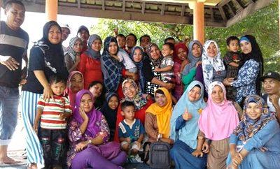 Foto bersama SMP 3 Angkatan 1998. Foto: Bin