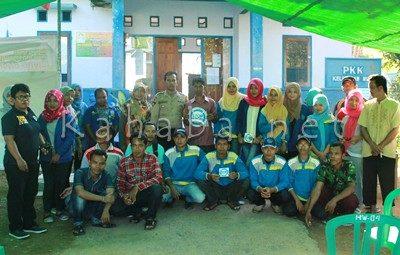 Foto mahasiswa KKN STIE Bima, BNN dan masyarakat Nitu. Foto: Deno