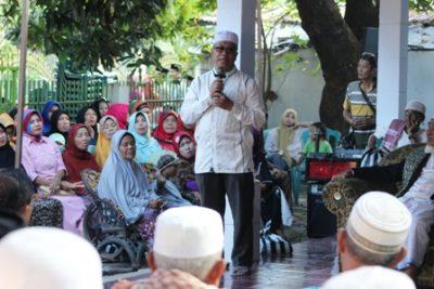 H. SUtarman saat menyampaikan sambutan pada acara Buka Puasa bersama. Foto: Bin