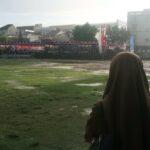 Upacara Hari Anti Radikalisme dan Terorisme Diguyur Hujan