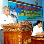 Sekda Buka FGD Raperda Pengelolaan Sampah