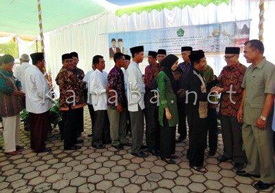 Jajaran Kanwil Kemenag Provinsi NTB saat Silahturahmi di Kota Bima. Foto: Ady