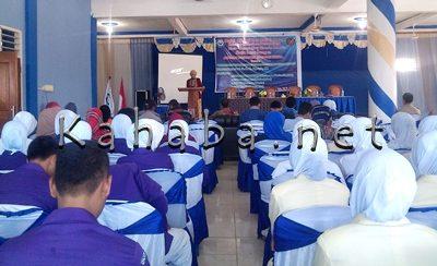 Kegiatan Halal Bihalal dan Kuliah Umum di Akbid Harapan Bunda Bima. Foto: Eric