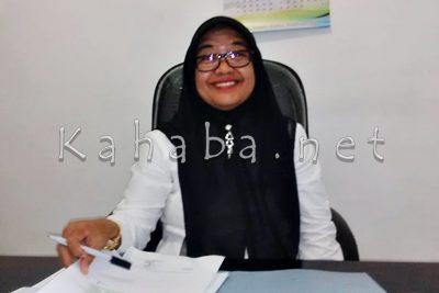Kepala Dinas Dukcapil Kota Bima, Mariamah. Foto: Bin
