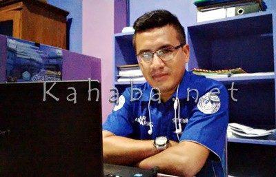 Ketua Panitia Penerimaan Calon Mahasiswa Baru STIE Bima Is Munandar. Foto: Bin