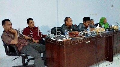 Komisi I DPRD Kota Bima saat menerima kunjungan BKKBN NTB. Foto: Eric