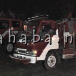 Antisipasi Kebakaran Bentrok Antar Kampung, Mobil Damkar Siaga