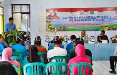 Mukerda Perdana DPD LPM Kota Bima. Foto: Ady