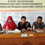 KPU Gelar Rakor Pendataan Pemilih Berkelanjutan