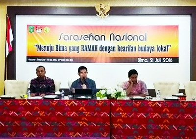 Sesi Diskusi Sarasehan Nasional. Foto: Hum
