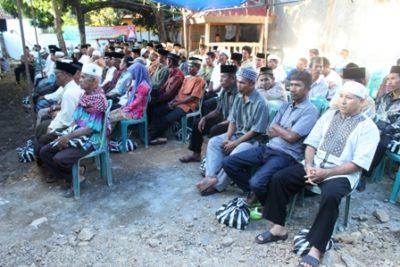 Warga Kota Bima yang menghadiri buka puasa bersama. Foto: Bin