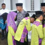 Wawali Bima Lepas Kafilah MTQ Tingkat Nasional ke-26