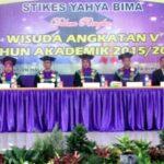 STIKES Yahya Bima Wisuda 106 Mahasiswa