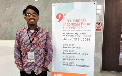 Didid saat berada di acara IFF. Foto: Didid (Facebook)