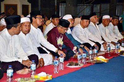 Haflah Tilawatil Qur'an menyambut kesuksesan Kafilah MTQ Nasional yang digelar Pemkot Bima. Foto: Hum