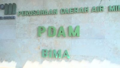 Kantor PDAM Bima. Foto: Ady