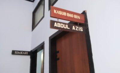 Kasubbag Bagian Pembinaan Kejari Bima, Abdul Azis. Foto: Bin
