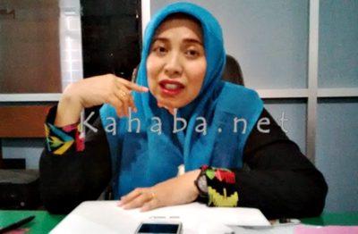 Kasi Tata Bangunan dan Pemukiman Bidang Cipta Karya Dinas Pekerjaan Umum Kota Bima, Ririn Kurniawati. Foto: Bin