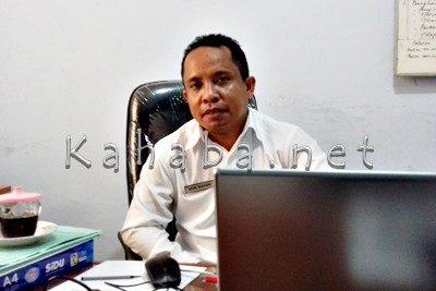Kepala Bidang PBB dan BPHTB Dinas DPPKAD Kota Bima M. Natsir. Foto: Eric