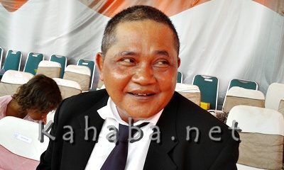 Kepala Dinas Pekerjaan Umum (PU) Kabupaten Bima, H. Nggempo. Foto: Noval