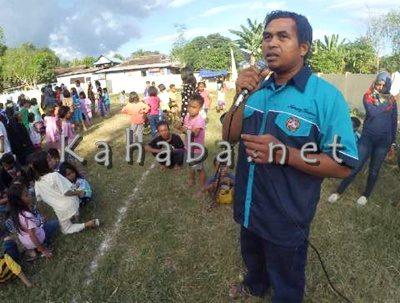 Ketua Karang Taruna Penatoi, Kautsar Mudatsir. Foto: Bin