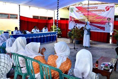 Lomba Pidato Siswa SMP dan SMA se-Kabupaten Bima. Foto: Hum