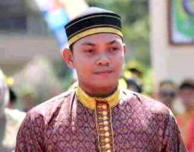 Muhammad Putera Ferryandi, Putra mendiang Ferry Julkarnain yang akan dinobatkan sebagai Jena Teke.Foto (Facebook Muhammad Putera Ferryandi)