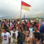 PT Sanggar Agro Peringati HUT RI di Puncak Tambora