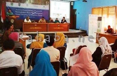 Program INOVASI saat diperkenalkan di Aula Pemkab Bima, kemarin. Foto: Ady