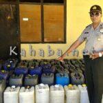 Polisi Buru Pemilik Puluhan Jerigen Sofi